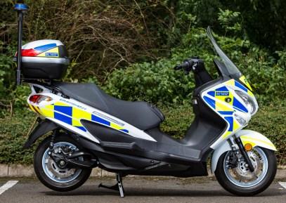 2017 Suzuki Burgman Hydrogen Fuel Cell Police - 4