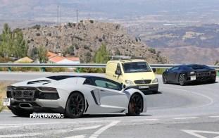 Lamborghini Aventador Performante spyshots 13
