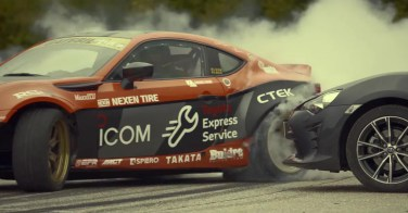 Toyota 86 space donuts