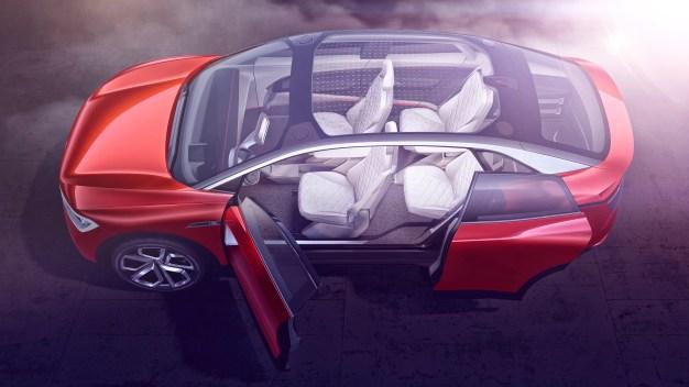 Das neue Volkswagen Showcar I.D. CROZZ