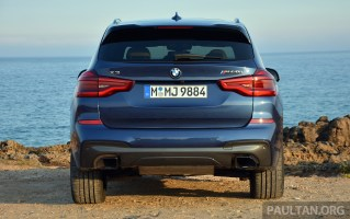 G01 BMW X3 Review 6