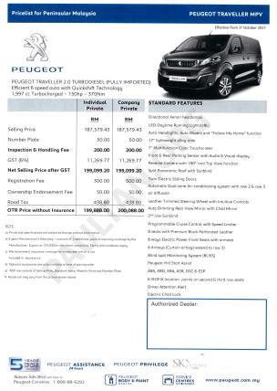 PEUGEOT-TRAVELLER-MPV-PRICE-MALAYSIA