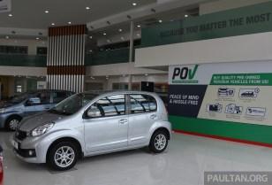 Perodua POV Jalan Pahang 1 BM