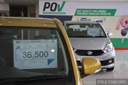 Perodua POV Jalan Pahang 12 BM