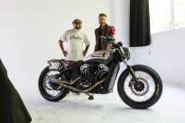 2018 Indian Motorcycles Scout Bobber Brooklyn show - 20