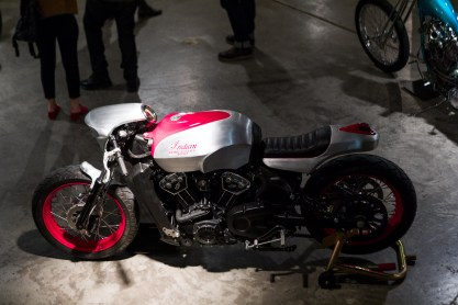 2018 Indian Motorcycles Scout Bobber Brooklyn show - 5