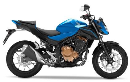 Honda CB500F_Candy Caribbean Blue Sea