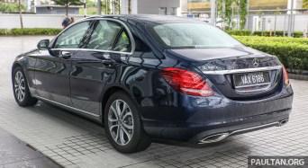 2018 Mercedes Benz C180 Avantgarde_Ext-4