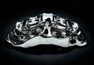 Bugatti titanium brake caliper BM-2