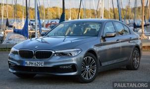G30 BMW 530e Review 1