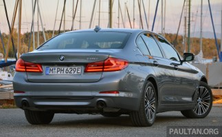 G30 BMW 530e Review 2