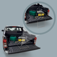 Isuzu D-MAX 2018 Enhanced Sliding Cargo Tray