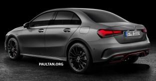 Mercedes-Benz A-Class Sedan render 2