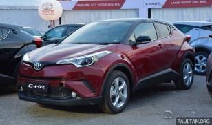 2018 Toyota C-HR handover 12 BM