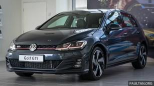 2018 Volkswagen Golf GTI Mk7.5 Launch in Malaysia