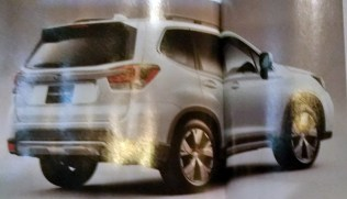 2019 Subaru Forester leaked 2