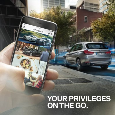 BMW Group Loyalty+ Mobile App 1