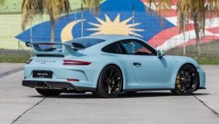 Porsche 911 GT3 Meissen Blue 5