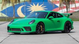 Porsche 911 GT3 Signal Green 5