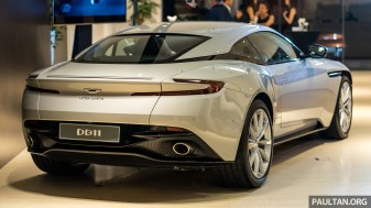 2018 Aston Martin DB11 V8 Launch in Malaysia - Exterior