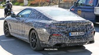 2018 BMW 8 Series Coupe Spyshots-14
