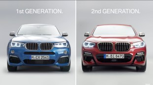 2018 BMW X4 - Old Vs New