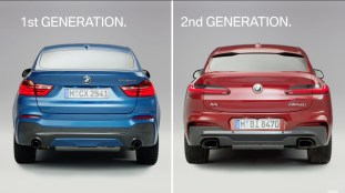 2018 BMW X4 - Old Vs New
