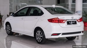 2018 Honda City 1.5 S in Orchid White Pearl
