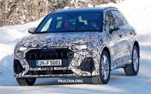 2019 Audi Q3 spyshots 6