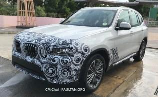 G01 BMW X3 spotted Malaysia 1