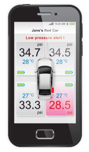 Perodua introduces GearUp Bluetooth tyre pressure monitoring system