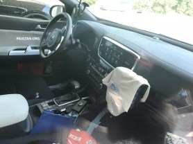 Kia Sportage facelift spyshots 10