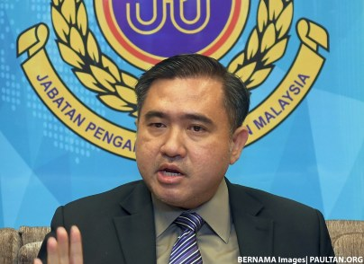 anthony loke transport minister bernama 2