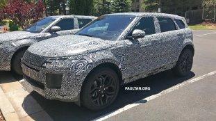 2018 Range Rover Evoque spyshots-11