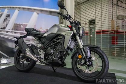 Honda CB250R launch Sepang BM-2