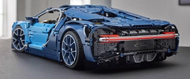 Lego Technic Bugatti Chiron 17