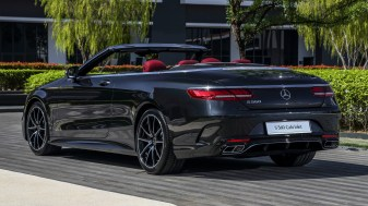 2018 Mercedes-AMG S560 Cabriolet Official Pics