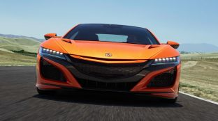 2019 Acura NSX debuts at Monterey - revised styling, more