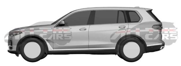 BMW X7 patent images (3)