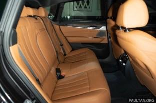 2018 BMW 6 Series GT Interior