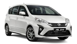 2018 Perodua Alza AV facelift 1