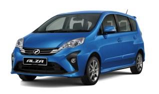 2018 Perodua Alza SE facelift 1