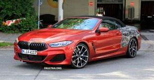 2019 BMW 8 Series Cabriolet Spied_4