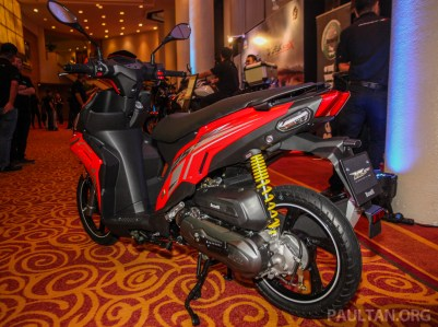 Benelli VZ125i launch Red-6