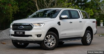 2019 Ford Ranger line-up in Malaysia, spec-by-spec compared