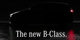 W247 Mercedes-Benz B-Class teaser 13