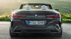 2019 G14 BMW 8 Series Convertible Exterior