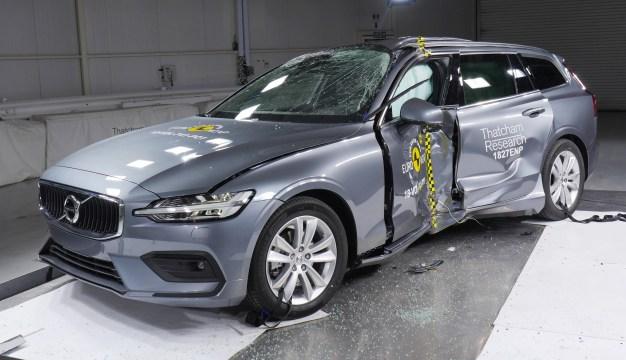 Euro NCAP 2018 Volvo V60