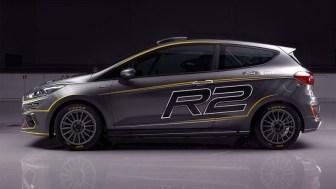 Ford Fiesta R2 rally car 2