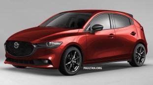 Mazda 2 hatch render 1